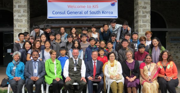 Visit by Hon. Consul General of South Korea