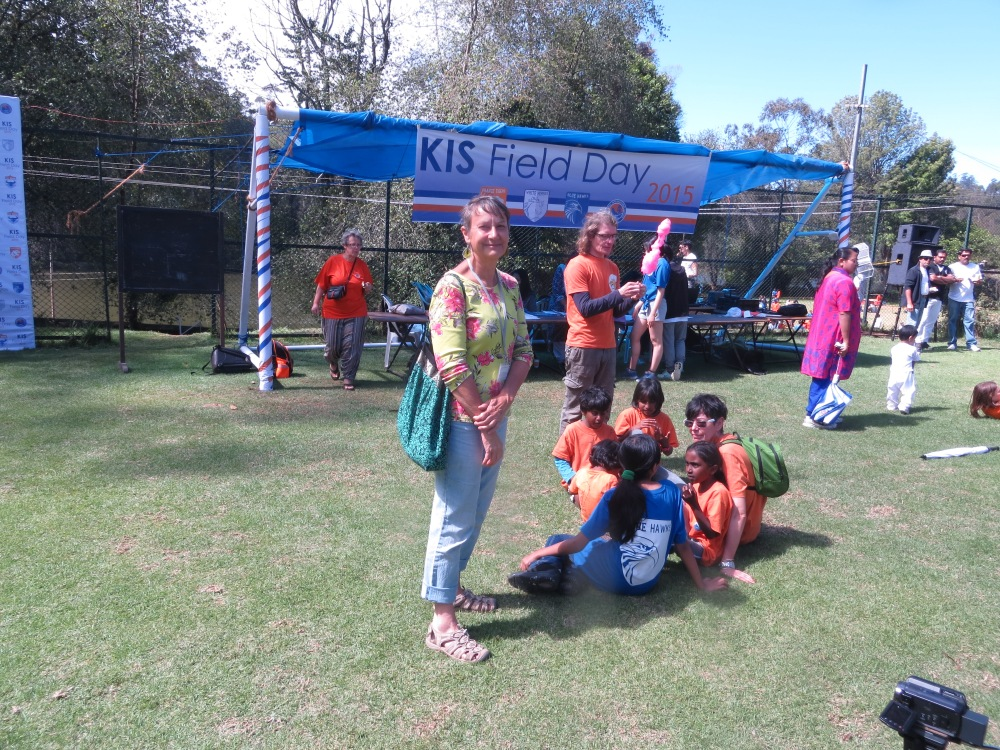 Loey at Field Day