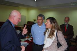 Gene with the Vice Principal Liliana Gomez and spouse Gustavo Kaiser (1)