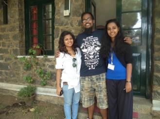 Jabez Uday Kumar '08 & Joanna Uday Kumar '05, Ankita Patrick '08