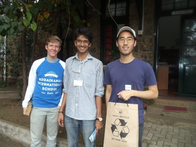 Narayanan Krithivasan '06 with friends