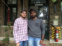 Yeshwanth Katragunta '12 with friend