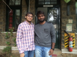 Yeshwanth Katragunta '12 with friend